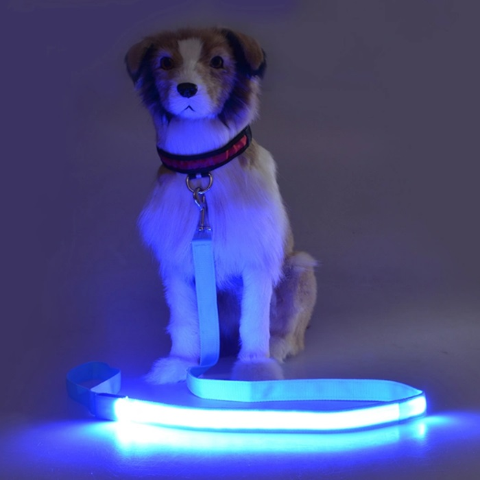 Night Safety Light up Flashing LED Pet Dog Leash