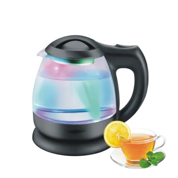 3 Colors LED Light Most Popular Electric Kettle 1.8L1800W Glass Body Design Electric Water Kettle Glass